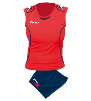 Дамски Волейболен Екип ZEUS Kit Volley Donna Fauno 0601 506069 Kit Volley Donna Fauno