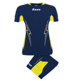 Дамски Волейболен Екип ZEUS Kit Volley Donna Tuono 0117 506095 Kit Volley Donna Tuono