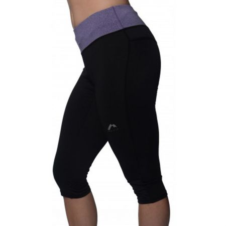 Дамски Клин MORE MILE Marl Womens 3/4 Capri Running Tights
