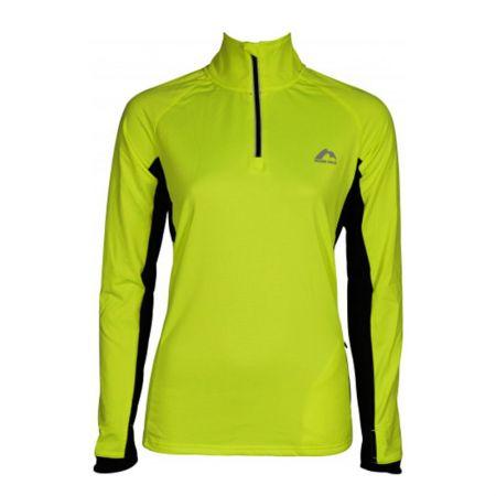 Дамски Суичър MORE MILE Vancouver 2 Womens Half Zip Thermal Running Top