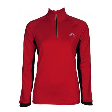 Дамски Суичър MORE MILE Vancouver 2 Womens Half Zip Thermal Running Top 514995 MM2935
