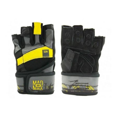 Ръкавици За Фитнес MAD MAX Fitness Gloves Wristband Signature 402029