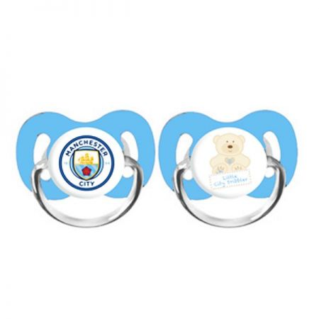 Биберони MANCHESTER CITY 2PK Soothers 511922 15892