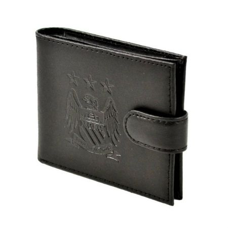 Портфейл MANCHESTER CITY Crest Embossed Leather Wallet 501557 2744