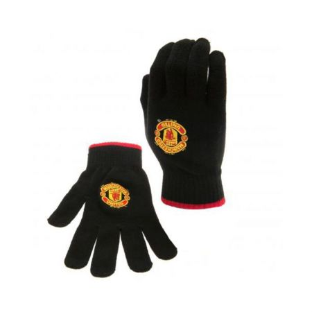 Ръкавици MANCHESTER UNITED Knitted Gloves 505533 v22knamubr