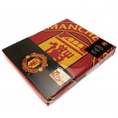 Спално Бельо MANCHESTER UNITED Reversible Single Duvet Set PL 503762 h10duvmaupl изображение 4