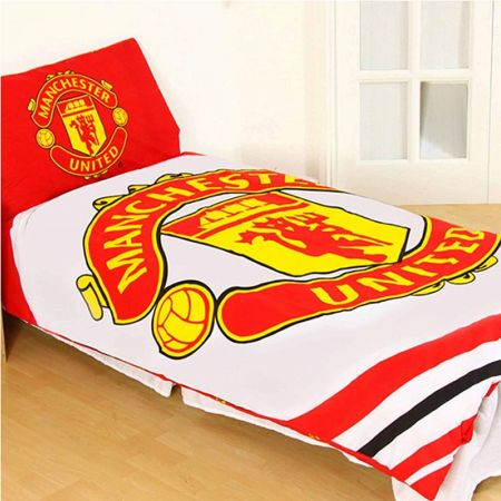 Спално Бельо MANCHESTER UNITED Reversible Single Duvet Set PL 503762 h10duvmaupl