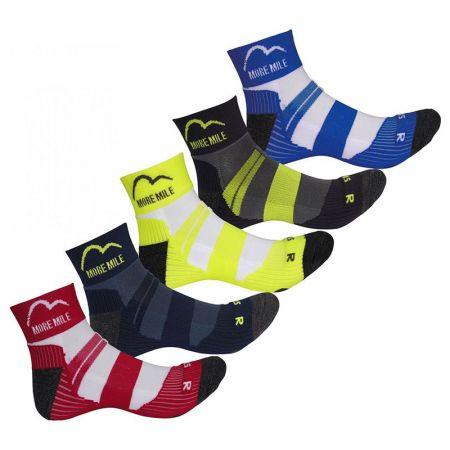 Комплект Дамски Чорапи MORE MILE Endurance Running Socks - 5 Pack