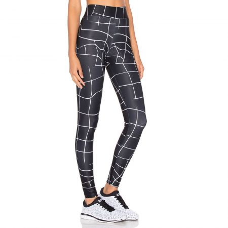 Дамски Клин PUMA Evo Grid Leggings 512420 57165701 изображение 2