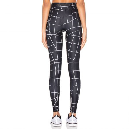 Дамски Клин PUMA Evo Grid Leggings 512420 57165701 изображение 3