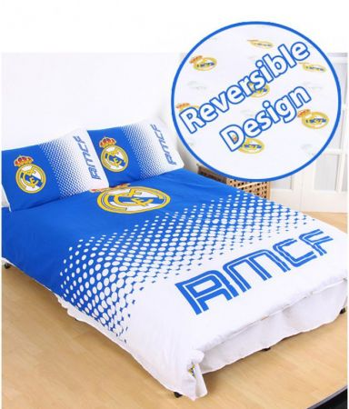 Спално Бельо REAL MADRID Reversible Double Duvet Set FA 504192
