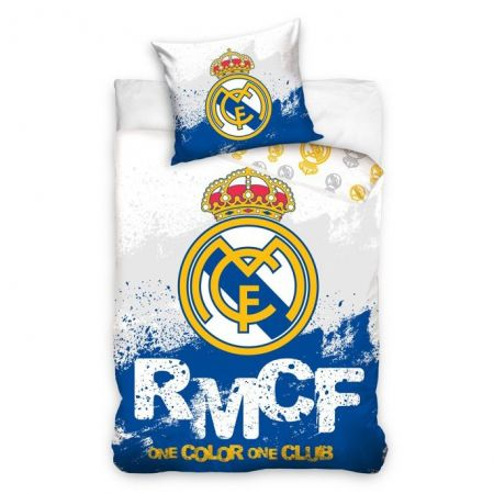 Спално Бельо REAL MADRID Single Duvet Set Stars 503772