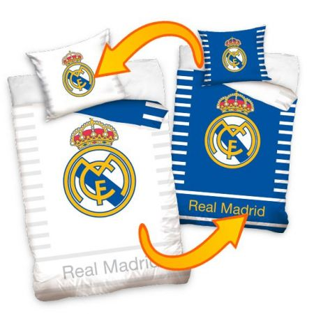 Спално Бельо REAL MADRID Single Duvet Set RV