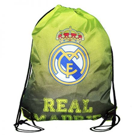 Чанта REAL MADRID Gym Bag Neon 509607