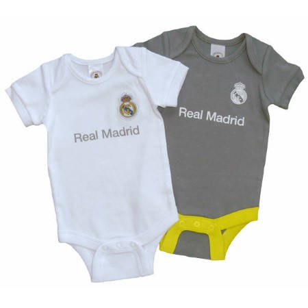 Бебешки Дрехи REAL MADRID 2 Pack Bodysuit 501478 12641-w60bdsrmf