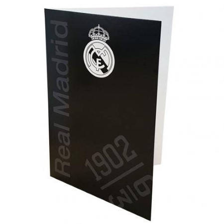 Картичка REAL MADRID Greetings Card BK 501534 w10carrmb