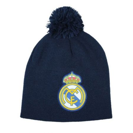 Зимна Шапка REAL MADRID Bobble Knitted Hat NVN