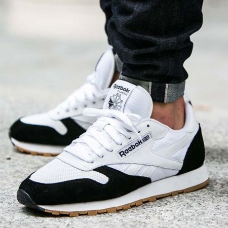 Мъжки Кецове REEBOK Classic Leather SPP Trainers  514945 AR1894 изображение 7