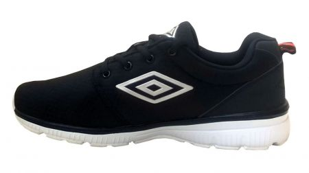 Мъжки Маратонки UMBRO Mesh Light Trainers 503954 UMM 00001 BLACK изображение 2