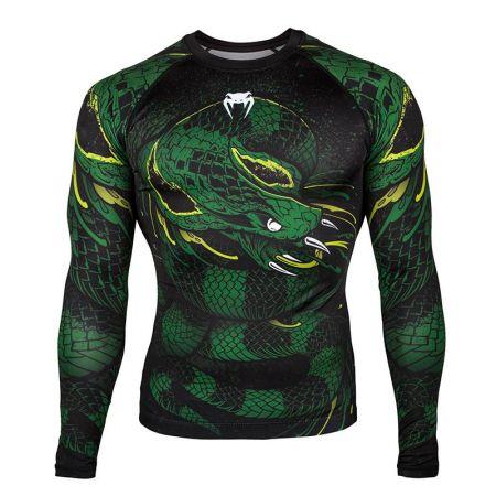 Мъжки Рашгард VENUM Green Viper Rashguard - Long Sleeves 514169 03502-102