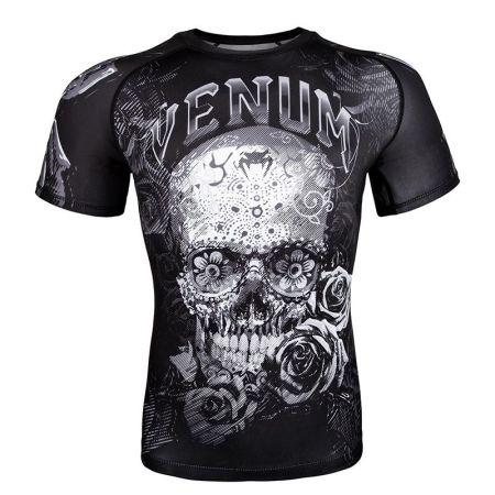 Мъжки Рашгард VENUM Santa Muerte 3.0 Rashguard - Short Sleeves 514165 03530-108