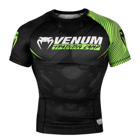 Мъжки Рашгард VENUM Training Camp 2.0 Rashguard - Short Sleeves 514144 03584-116