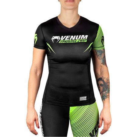Дамски Рашгард VENUM Training Camp 2.0 Rashguard Short Sleeves 514421 03586-116