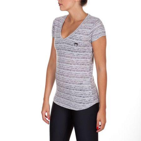 Дамска Тениска VENUM Essential V Neck T-Shirt 514387 2111-GREY