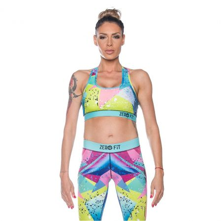 Дамско Бюстие ZERO FIT Sports Bra Crazy Colours 510313