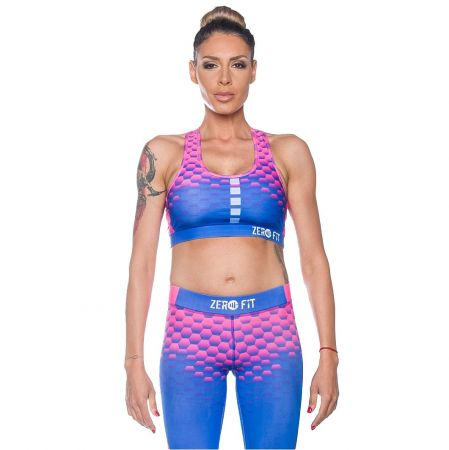 Дамско Бюстие ZERO FIT Sports Bra Crazy Colours 510314