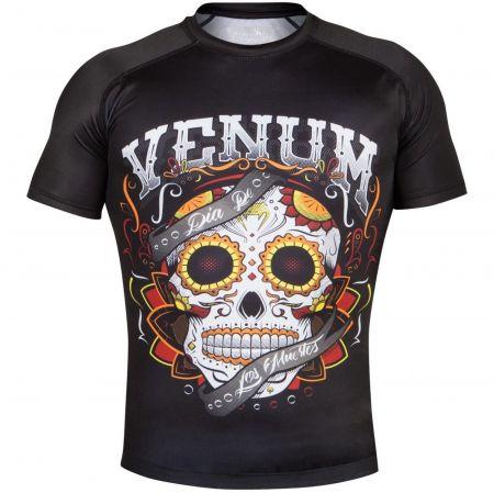 Мъжки Рашгард VENUM Santa Muerte 2.0 Rashguard Short Sleeves 508109