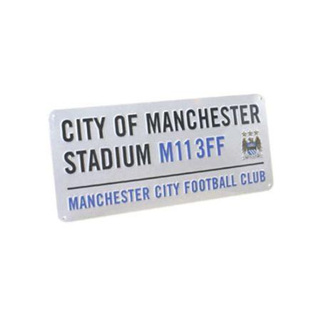 Табела MANCHESTER CITY Stadium Sign 40х18cm 500061 f40ssimc