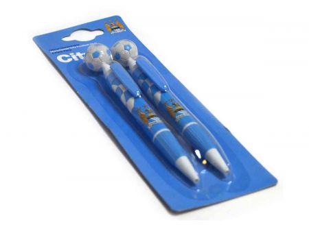 Комплект Химикалки MANCHESTER CITY 2 Pack Pen Set 501042  изображение 2