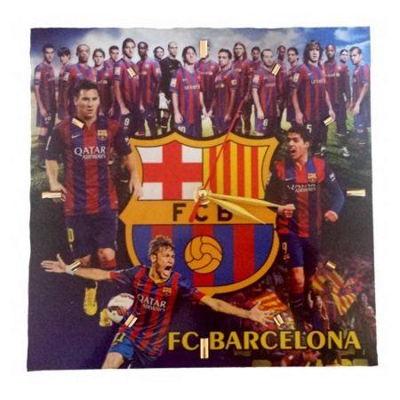 Стенен Часовник BARCELONA Wall Clock Messi, Neymar and Suarez PKS 501385