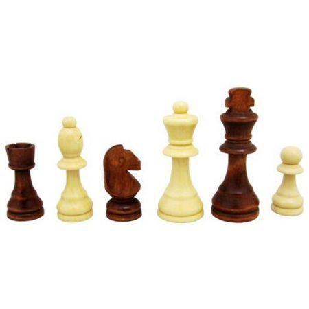 Дървени Фигури За Шах MAXIMA Wooden Figures Chess 4.5-9 Cm 503048
