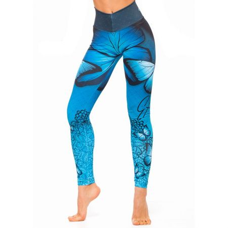 Дамски Клин EX FIT Legging Blue Butterfly 512138