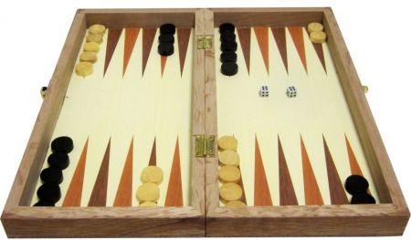 Дървен Шах/Табла MAXIMA Wooden Chess/Backgammon 35 Cm 503017 270768 изображение 3