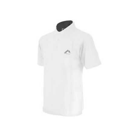 Мъжка Тениска MORE MILE Short Sleeve Mens Polo Shirt 508522 MMSSPOLOMWHT