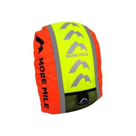 Светлоотразителен Калъф За Раница MORE MILE Reflective Safety Backpack Cover 509085