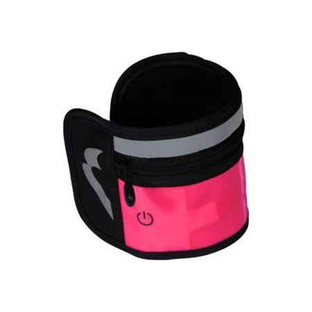 Светещ Накитник MORE MILE Run Brite Safety Wrist Pocket  509213 MM2016