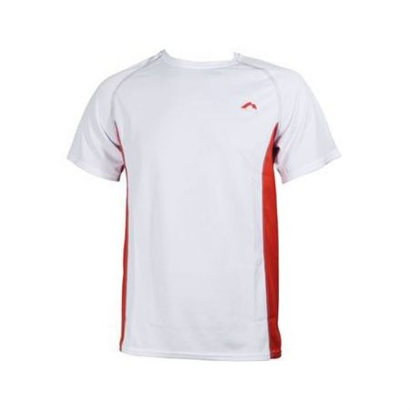 Мъжка Тениска MORE MILE Mesh Panelled Short Sleeve Mens Running Top 508376