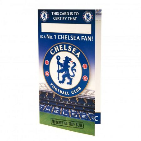 Картичка CHELSEA Birthday Card No 1 Fan 500730 w12canch-z01carchno