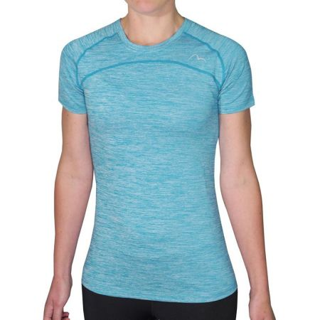 Дамска Тениска MORE MILE Heather Short Sleeve Ladies Running Top 508547