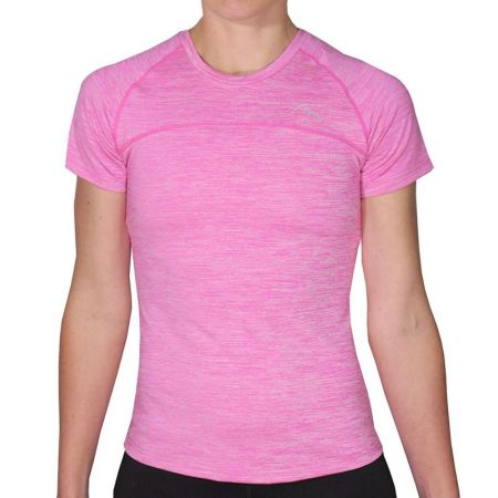ДетскаТениска MORE MILE Heather Short Sleeve Girls Running Top 508829 MM2519