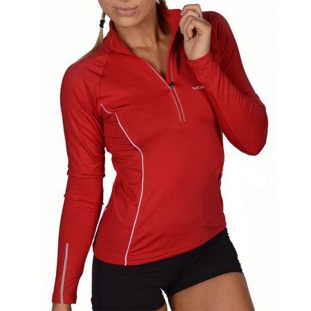 Дамски Суичър MORE MILE Vancouver Thermal Hi-Viz Ladies Running Top 508681 MM1266