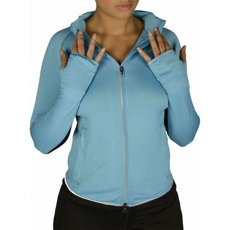 Дамски Суичър MORE MILE More-Tech Thermal Full Zip Ladies Running Top 508687