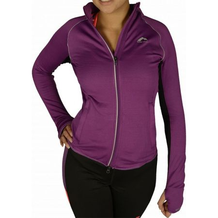 Дамски Суичър MORE MILE More-Tech Thermal Full Zip Ladies Running Top 508700 MM1532