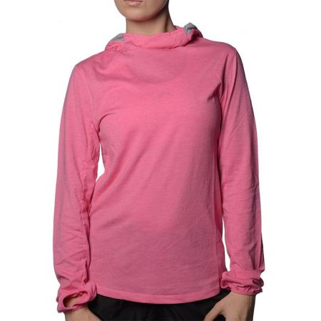 Дамска Блуза MORE MILE Marl Long Sleeve Ladies Running Hoody 508668 MM1702