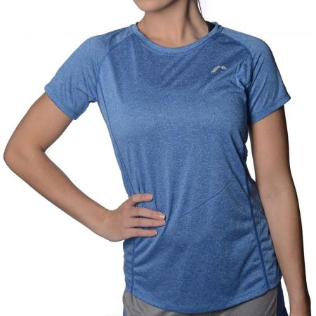Дамска Тениска MORE MILE Marl Short Sleeve Ladies Running Top 508784