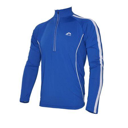 Мъжка Блуза MORE MILE Hi-Viz Half-Zip Mens Long Sleeve Running Top 508369 MM2027